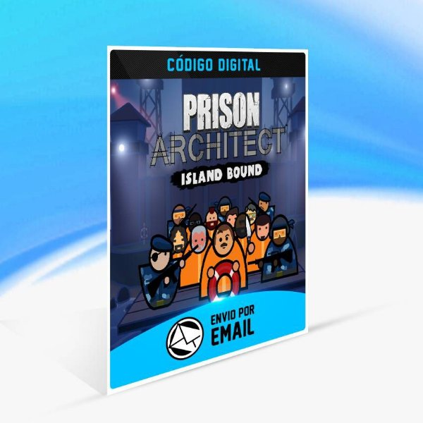 Prison Architect - Island Bound ORIGIN - PC KEY