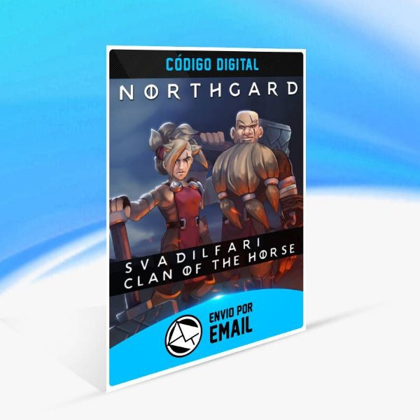 Northgard - Svardilfari, Clan of the Horse ORIGIN - PC KEY