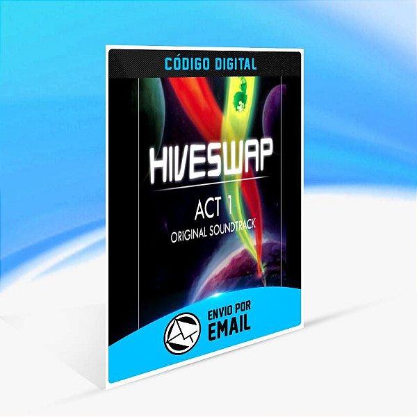 Trilha sonora original de HIVESWAP: Act 1 ORIGIN - PC KEY