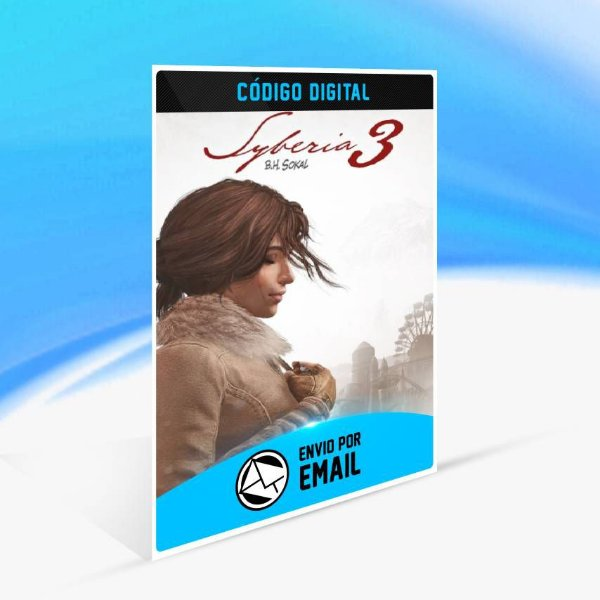 Syberia 3 Complete Journey Edição Standard ORIGIN - PC KEY