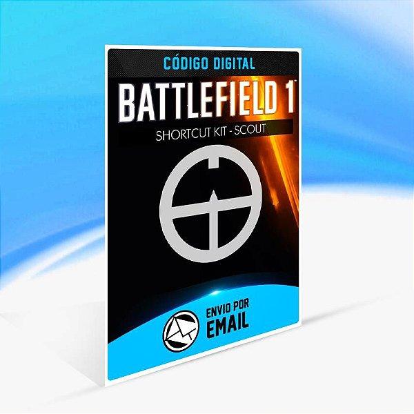 Battlefield 1 Shortcut Kit: Conjunto Scout ORIGIN - PC KEY