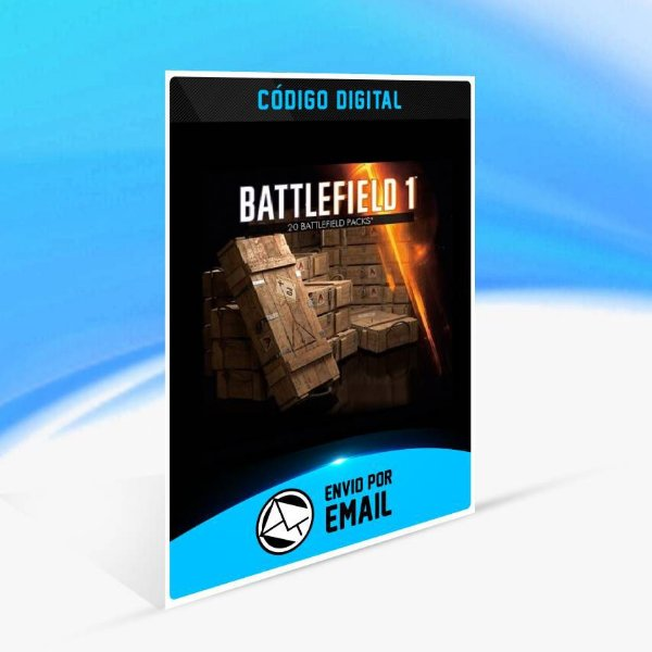 x20 Pacotes de batalha do Battlefield 1 ORIGIN - PC KEY