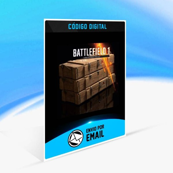 x3 Pacotes de batalha do Battlefield 1 ORIGIN - PC KEY