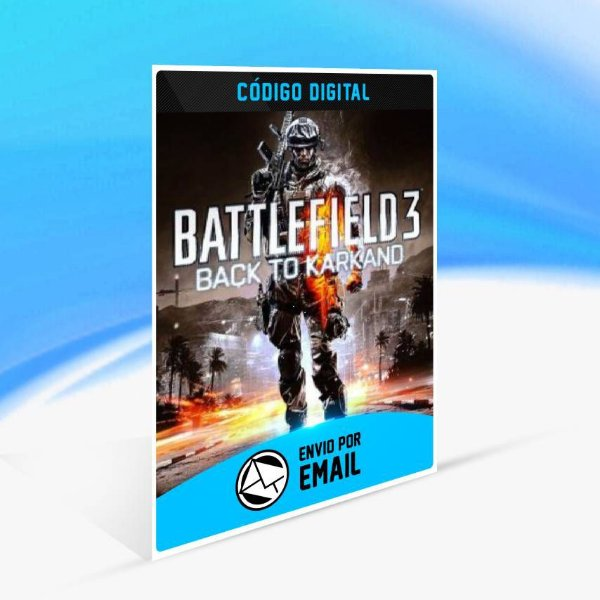 Pacote de Expansão Battlefield 3 Back to Karkand ORIGIN - PC KEY