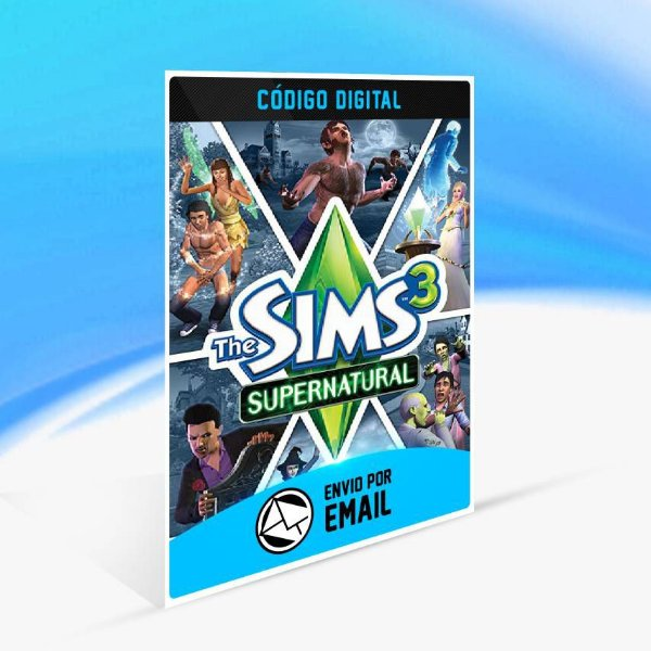 The Sims 3 Sobrenatural Pacote de Expansão ORIGIN - PC KEY