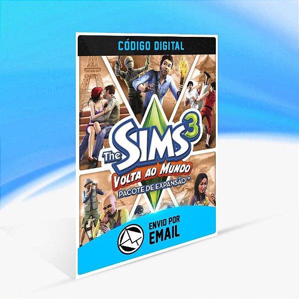 The Sims 3 Volta ao Mundo Pacote de Expansão ORIGIN - PC KEY