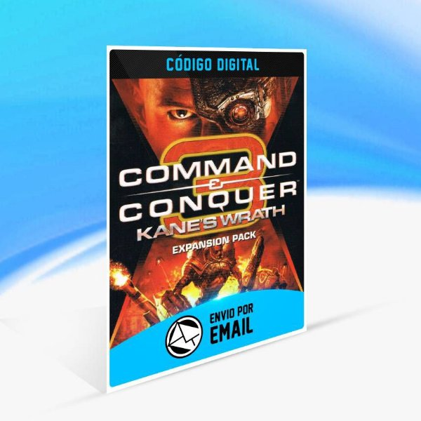 Command & Conquer 3: Kane's Wrath Pacote de Expansão ORIGIN - PC KEY