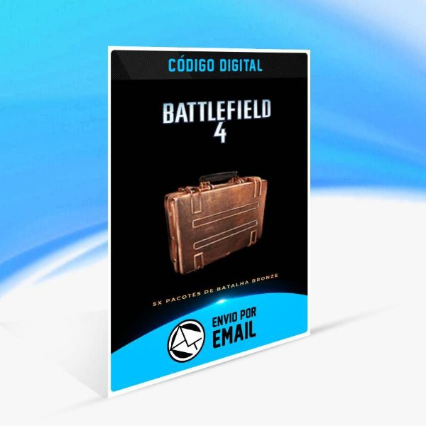 Battlefield 4 - 5x Pacotes de Batalha Bronze ORIGIN - PC KEY