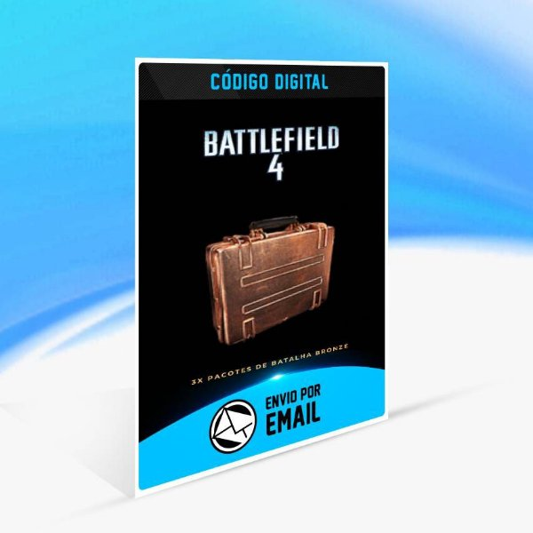Battlefield 4 - 3x Pacotes de Batalha Bronze ORIGIN - PC KEY