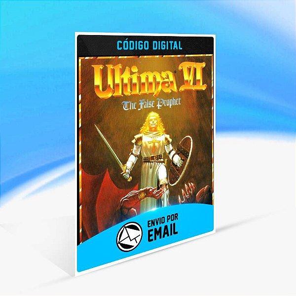 Ultima VI: The False Prophet ORIGIN - PC KEY