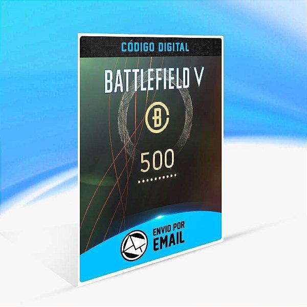 Battlefield V - 500 moedas de Battlefield ORIGIN - PC KEY