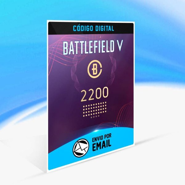Battlefield V - 2.200 moedas de Battlefield ORIGIN - PC KEY