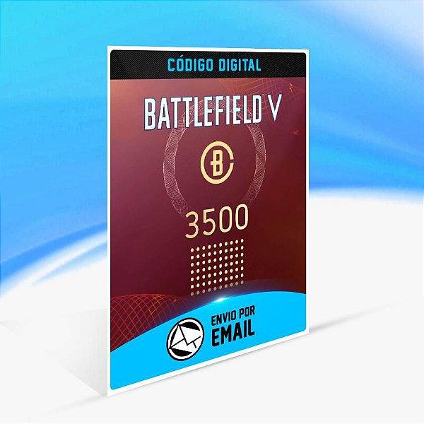 Battlefield V - 3.500 moedas de Battlefield ORIGIN - PC KEY