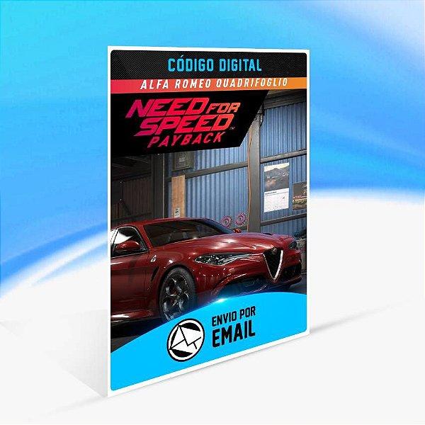 Need for Speed Payback: Alfa Romeo Quadrifoglio ORIGIN - PC KEY