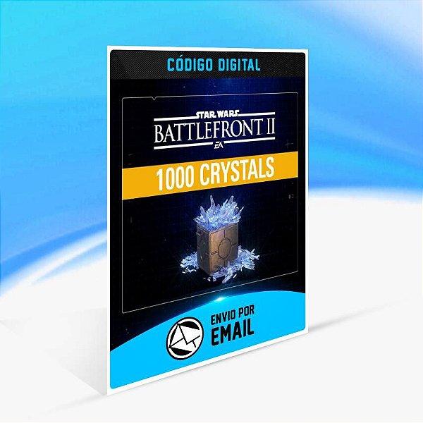 STAR WARS Battlefront II: Pacote de 1.000 Cristais ORIGIN - PC KEY