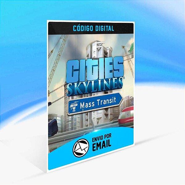 Cities: Skylines - Mass Transit ORIGIN - PC KEY