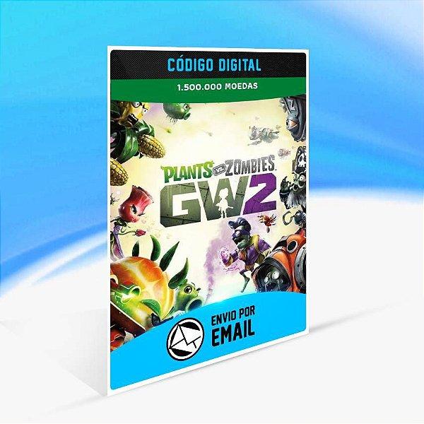 Pacote de 1.500.000 Moedas de PvZ Garden Warfare 2 ORIGIN - PC KEY