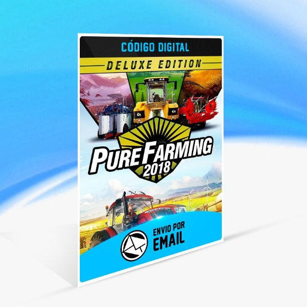 Pure Farming 2018 - Deluxe Edition STEAM - PC KEY