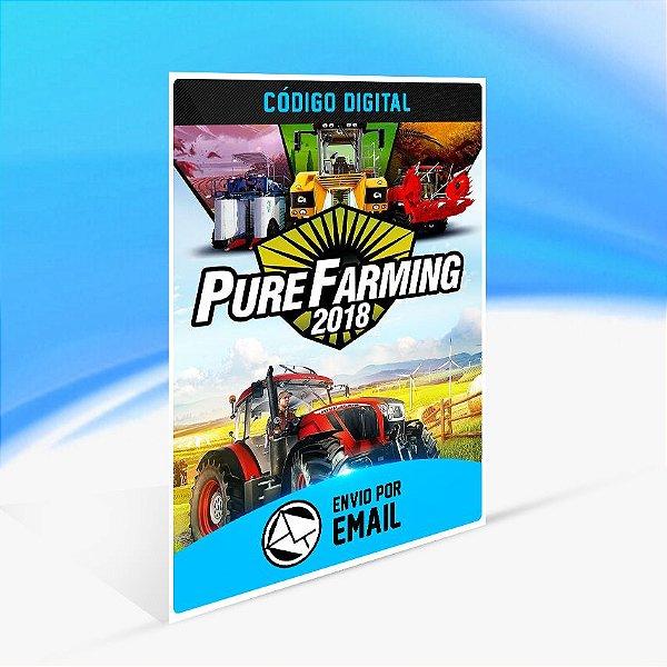 Pure Farming 2018 STEAM - PC KEY