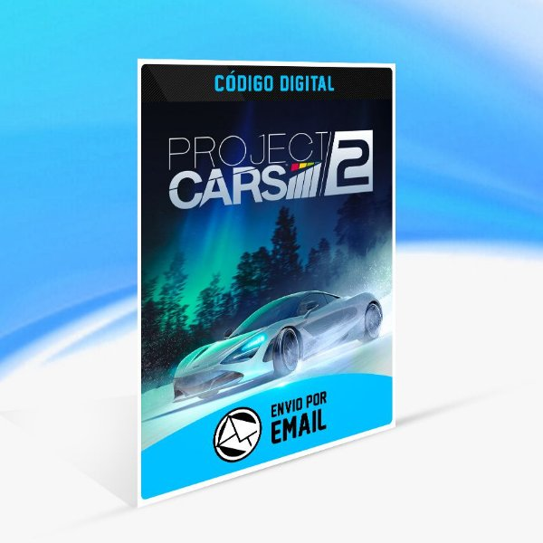 Project CARS 2 STEAM - PC KEY