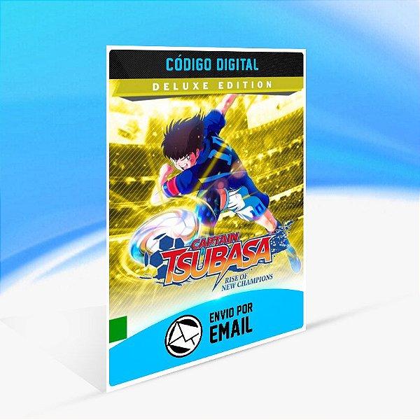 Captain Tsubasa: Rise of New Champions Edição Deluxe do 1º Mês - Nintendo Switch Código 16 Dígitos