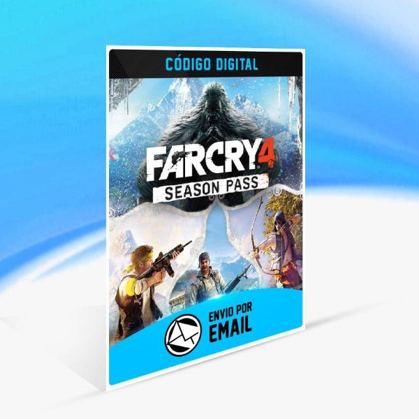 Passe de Temporada de Far Cry 4 ORIGIN - PC KEY