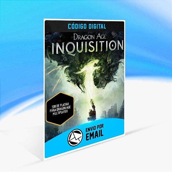 Pacotes Multiplayer Platinum de Dragon Age Inquisition - 300 de platina para Dragon Age multiplayer ORIGIN - PC KEY