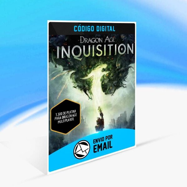 Pacotes Multiplayer Platinum de Dragon Age Inquisition - 3.300 de platina para Dragon Age multiplayer ORIGIN - PC KEY