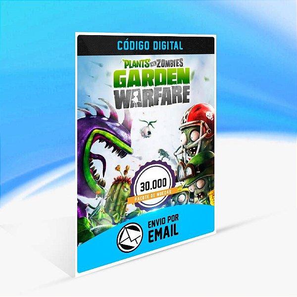 Pacote de 30.000 moedas do Plants vs. Zombies Garden Warfare ORIGIN - PC KEY
