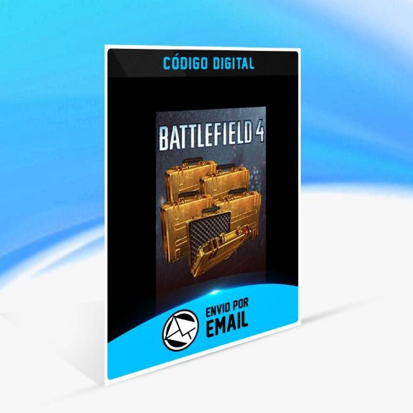 Battlefield 4 - 5x Pacotes de Batalha Ouro ORIGIN - PC KEY