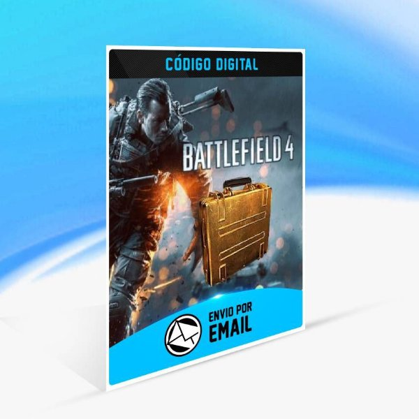 Battlefield 4 - 3x Pacotes de Batalha Ouro ORIGIN - PC KEY