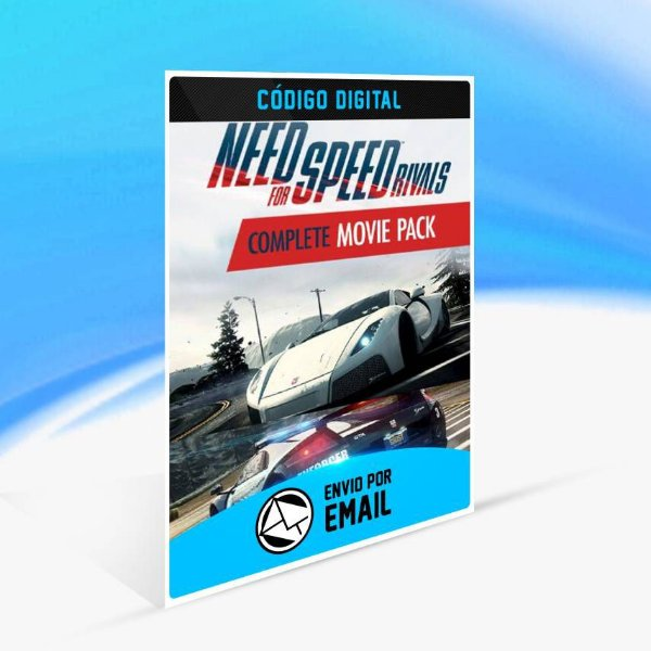 Need for Speed Rivals Pacote Completo do Filme ORIGIN - PC KEY