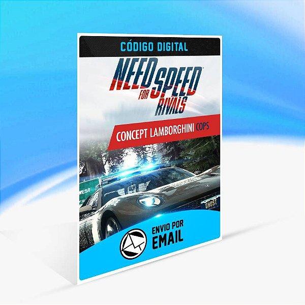 Need for Speed Rivals Concept Lamborghini Policiais ORIGIN - PC KEY