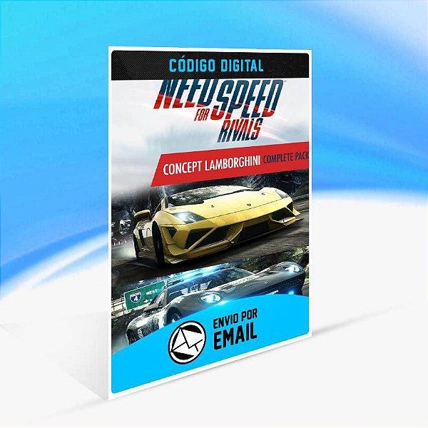 Need for Speed Rivals Pacote Completo Concept Lamborghini ORIGIN - PC KEY