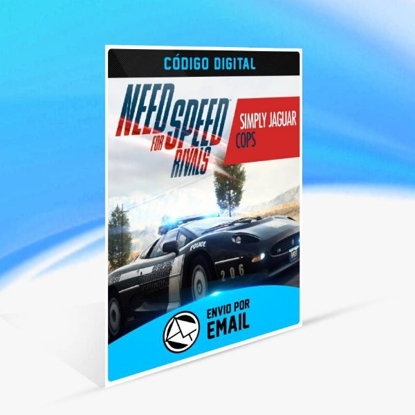 Need for Speed Rivals Simplesmente Jaguar Policiais ORIGIN - PC KEY