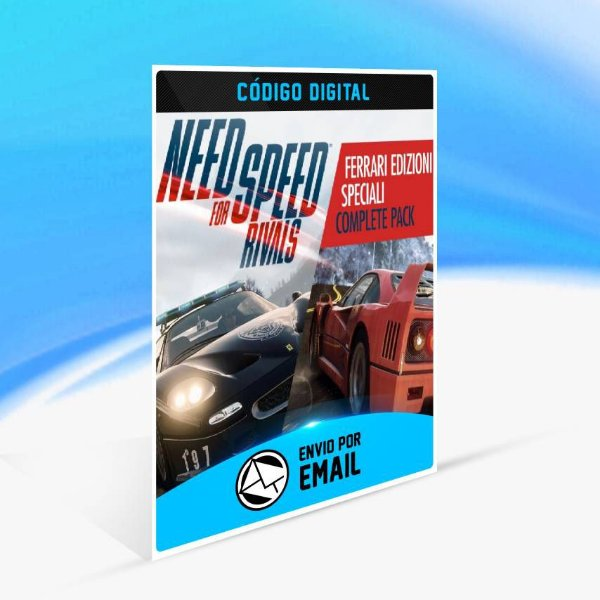 Need for Speed Rivals Pacote Completo Ferrari Edizioni Speciali ORIGIN - PC KEY