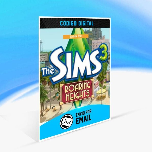 The Sims 3 Roaring Heights Edição Ouro ORIGIN - PC KEY