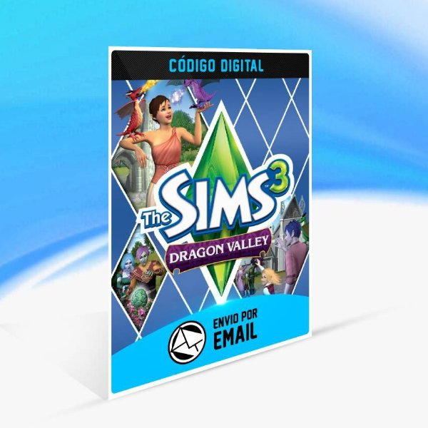 The Sims 3 Vale do Dragão ORIGIN - PC KEY