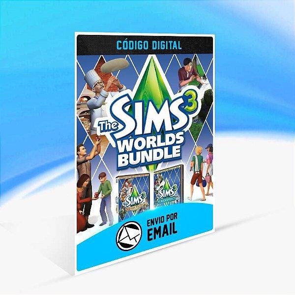 The Sims 3 Coleção de Mundos ORIGIN - PC KEY