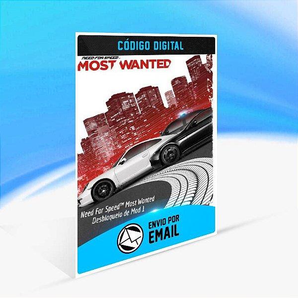 Need For Speed Most Wanted Desbloqueio de Mod 1 ORIGIN - PC KEY