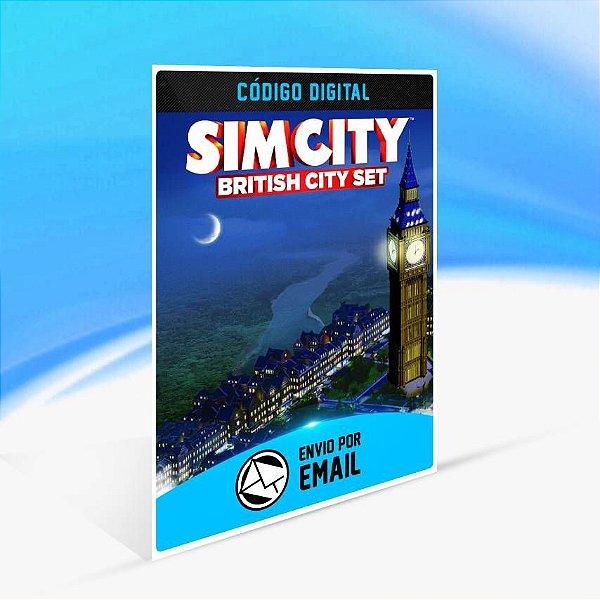 Conjunto Cidade Inglesa ORIGIN - PC KEY
