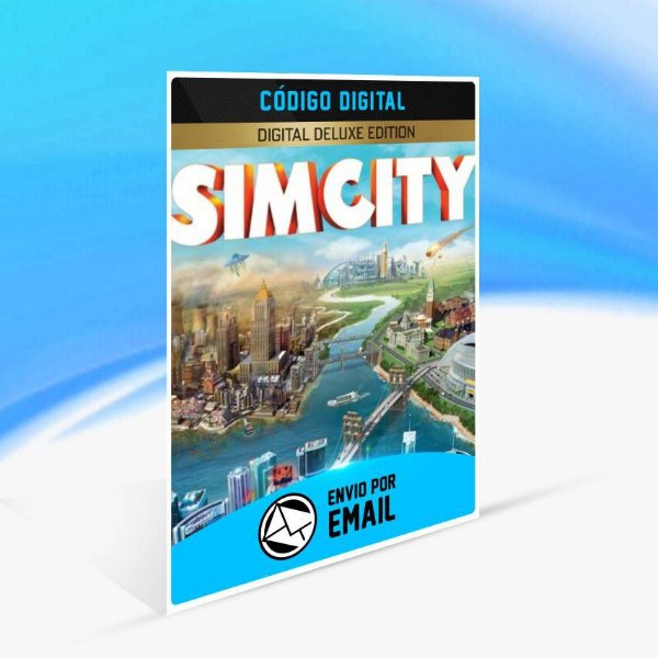 Pacote Digital Deluxe Upgrade SimCity ORIGIN - PC KEY