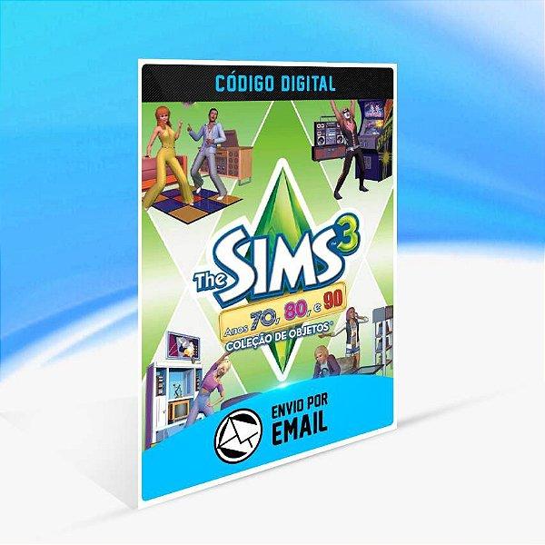 The Sims 3 Anos 70, 80, e 90 Coleção de Objetos ORIGIN - PC KEY
