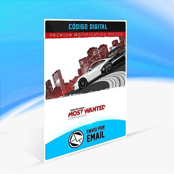 Need For Speed Most Wanted Desbloqueio de Mod Premium ORIGIN - PC KEY
