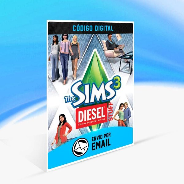 The Sims 3 Diesel Coleção de Objetos ORIGIN - PC KEY