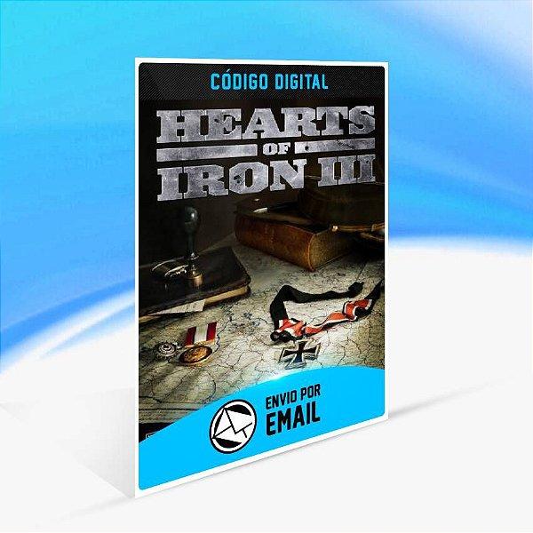 Hearts of Iron III ORIGIN - PC KEY