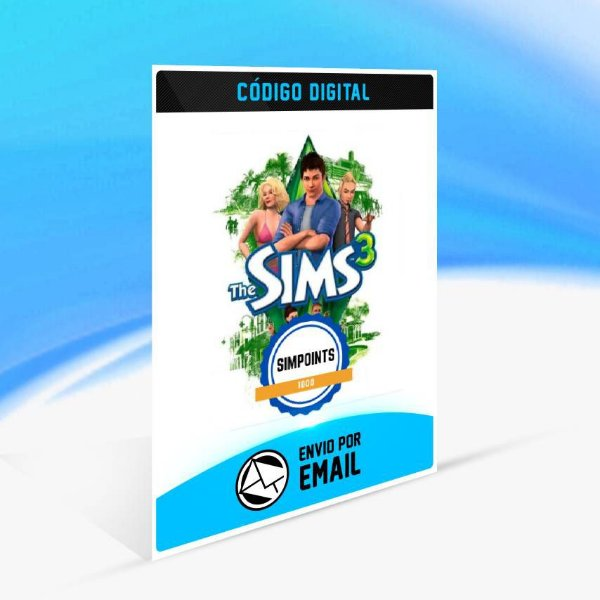 SimPoints de The Sims 3 - 1.000 SimPoints ORIGIN - PC KEY