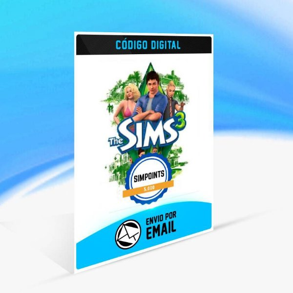 SimPoints de The Sims 3 - 5.000 SimPoints ORIGIN - PC KEY