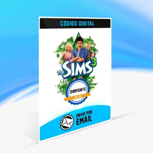 SimPoints de The Sims 3 - 10.600 SimPoints ORIGIN - PC KEY