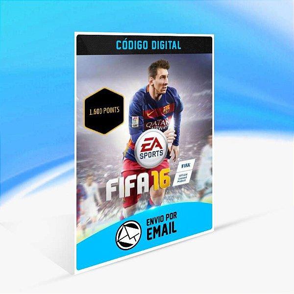 FIFA 16 POINTS 1.600 ORIGIN - PC KEY
